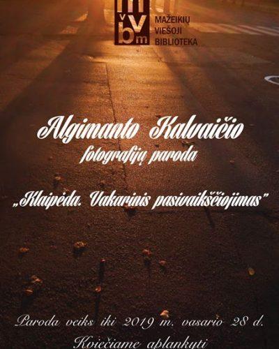 lgimanto Kalvaičio fotografijų paroda