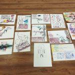 Dalyvių nupiešti paveikslai