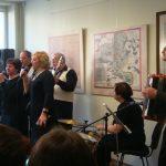 Koncertavo Šiaulių r. kultūros centro Bridų filialo Pakapės stilizuota kapela