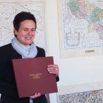 Žemėlapių aplankas - dovana Mažeikių viešajai bibliotekai