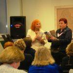 Sveikinimo žodžius tarė Akmenės viešosios bibliotekos direktorė Zita Sinkevičienė