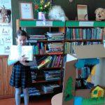 Andrėja pristato perskaitytą knygą