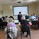 Kompiuterinio raštingumo mokymai pažengusiųjų grupėje