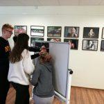 Moksleiviai rengia savo kurtų haiku parodą