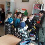 Mokytoja dalija vaikams užduotis