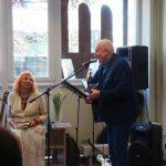 Poetas ir dainuojamosios poezijos atlikėjas Kęstutis Krencius ir Vilija Imbrienė