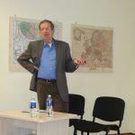 Politikos apžvalgininkas dr. K. Girnius Mažeikių viešojoje bibliotekoje