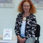 """Eva Tombak Mažeikių viešojoje bibliotekoje pristatė knygą """"Minčių žvėrynas"""""""