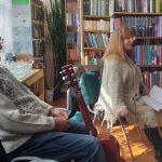 Renginio svečiai – Mažeikių krašto literatų ir menų mėgėjų sambūrio atstovai