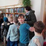 Susipažinimo su biblioteka traukinukas