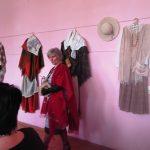 """Tautodailininkė V. R. Šiaulytienė pristato parodą """"Šalėp..."""""""