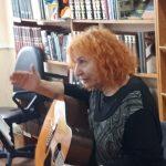 Vilija Imbrienė Buknaičių bibliotekoje