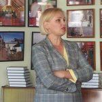 Žurnalistė diskutavo su renginio dalyviais įvairiais politinio gyvenimo klausimais