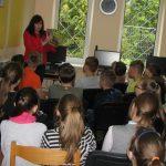 Bibliotekininkė vaikams pristato nuotykių knygas