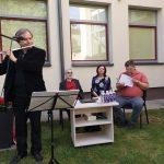 Mažeikiškius sužavėjo fleitininko Andriaus Radziukyno atliekamos melodijos