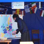 """Magnetinis žemėlapis-dėlionė """"Lankytini objektai ES šalyse"""""""