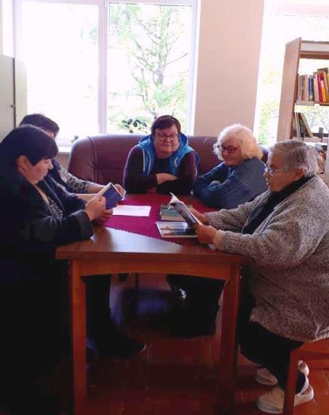 Popietė Leckavos bibliotekoje