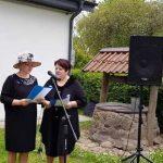 Renginio vedėjos bibliotekininkė Benita Vaizgėlienė ir Violeta Buožienė. Nuotrauka Ievos Pocevičiūtės