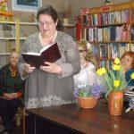Savo eiles skaito Antanina Šližienė