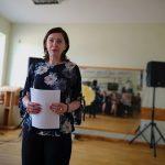 Tirkšliuose skambėjo ir Vytauto Mačernio poezija, kurią skaitė aktorė Daiva Škelevaitė