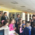 Vaikų literatūros skyriuje