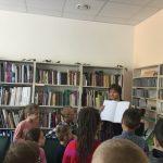 Vaikai meno skaitykloje