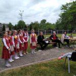 Viekšnių gimnazijos trečiokės parodė programėlę žemaičių kalba