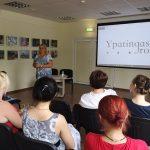 Parodą pristatė projekto idėjos autorė Edita Navickienė