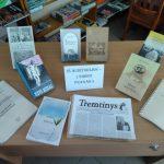 Spaudinių paroda Gedulo ir vilties dienai bibliotekoje