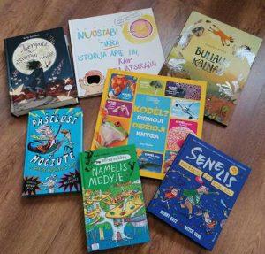 Naujos knygos   Mažeikių rajono viešoji biblioteka