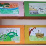 Vaikų piešinių paroda