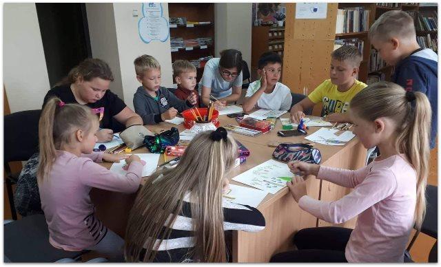 Vaikai piešia Žemaitiją
