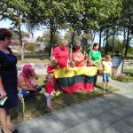 Baltijos kelio minėjime dalyvauja ir račališkių bendruomenė