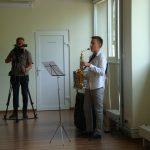 Parodos atidaryme skambėjo saksofono muzika