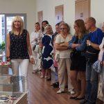 Degtukų dėžučių parodos pristatymo dalyviai
