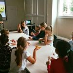 """E.Muravjovaitė veda edukacinį užsiėmimą """"Emocijų valdymas. Nusiraminimo būdai"""""""