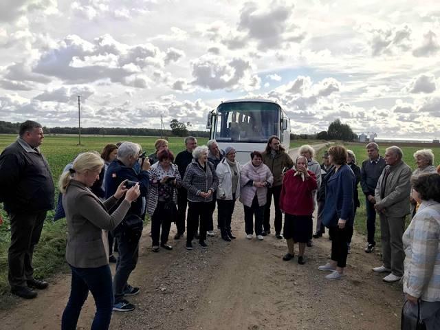 Irena Vanagienė pasakoja apie Šeirių kaimą