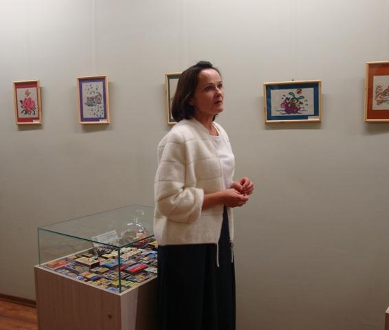 Parodą pristatė bendrijos pirmininkė Lilia Baltutienė