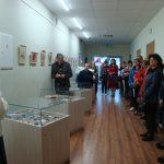 Parodos atidaryme dalyvavo jos autoriai, jų šeimų nariai, žurnalistai ir kiti svečiai