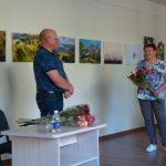 Parodos autorių sveikino kitų rajonų fotoklubų atstovai