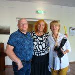 Renginyje susitiko viekšniškiai S. Kazlauskas, V. Imbrienė, L. Kazlauskienė