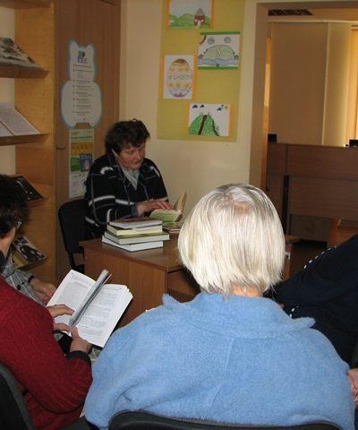 Knygų pristatymas Reivyčių bibliotekoje