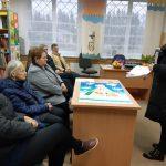 Apie sveiką mitybą kalbėjo Mažeikių visuomenės sveikatos biuro specialistė Ieva Šimkutė