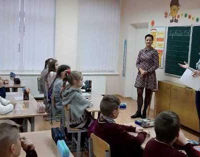 """Netradicinė pamoka """"Žiburėlio"""" pradinėje mokykloje"""