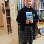 Knygą bibliotekai dovanojo ir Akvilė