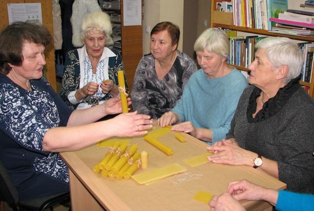 Edukacinis užsiėmimas Reivyčių bibliotekoje