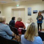 Renginyje dalyvavo Mažeikių krašto literatų ir menų mėgėjų sambūrio vadovė Janina Butnorienė