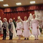 Skambėjo vaikų atliekamos dainos (mokytojos I. Čiapienė ir E. Jedinkienė)