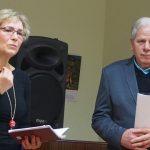 Svečiai iš Vilkaviškio - kraštietė Jovita Butnoriūtė-Grakavinienė su vyru Algimantu