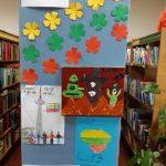 Vaikų piešinių paroda Balėnų filiale